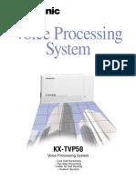 Panasonic KX-TVP50 Brochure