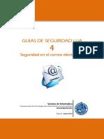 Guias de Seguridad UJA - 4. Seguridad en El Correo Electronico