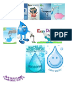 Save Water Collage