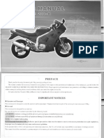 Lifan LF 200b 2008 Owners Manual