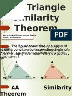Triangle Similarity Theorem 2