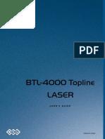 BTL Laser 4000 - User Manual