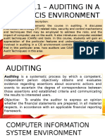 Lesson 1 Overview of IT Audit