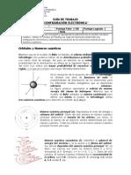 Guía de trabajo Configuración Electrónica I Medio Química