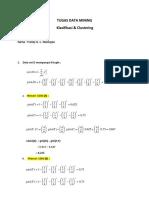Data Mining Clustering&Klasifikasi