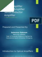 comparison among fiber amplifiers