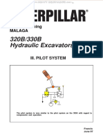 Material Caterpillar 320b 330b Hydraulic Excavators Pilot System Components Diagrams Schematics