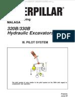 Material Caterpillar 320b 330b Hydraulic Excavators Pilot System Components Diagrams Schematics