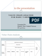 Value Chain Calculation
