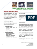 Factory Engineering and Processing Workshops