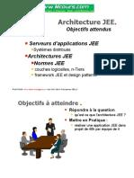Architecture JEE Objectifs Attendus