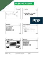 Architectures CS Java de JDBC a CORBA