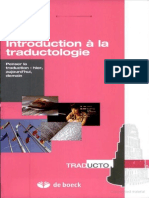 Mathieu Guidère - Introduction à la traductologie