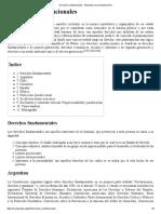 Derechos Constitucionales - Wikipedia, La Enciclopedia Libre