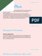 "Timo Menke - Gifted Men - ""Aesthetics, Ethics and Biopolitics of the Posthuman"" 2015, Aarhus, Denmark"