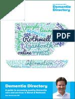 Alec Shelbrooke MP's Dementia Directory