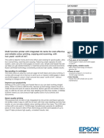 Epson L220 A4 Colour MultiFunction Ink Tank System Printer Datasheet