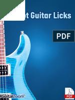 32 Hot Guitar Licks TAB Book Online