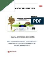 Sistema de alarma GSM