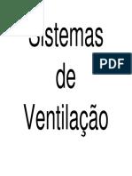 Sistemas de ventilacao