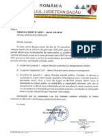 Monitorizare mass-media la Consiliul Judetean Bacău