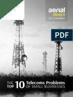 AD Top 10 Telecoms Problems v1