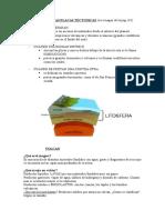 Movimiento de Las Placas Tectonicas
