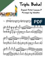 Triple Baka (piano by tehishter).pdf