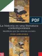 Jablonka_Historia Es Liberatura_IND e Introd