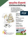 Schaustückausstellung der Bäcker-Confiseure und Detailhandelsfachleute in Thun 2016