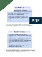 Teorías de La Motivación (McClelland, Maslow, Vow, Etc)
