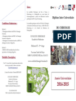 Brochure DIU Chirurgie Robotique Digestive2014 2015