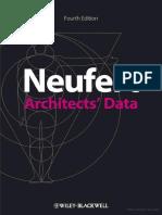 Neufert Architects Data Fourth Edition by Wiley Blackwell