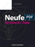 Neufert Architects Data Fourth Edition by Wiley Blackwell