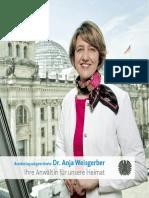 Bürgerbroschüre von Dr. Anja Weisgerber MdB