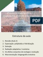 Aula 3 Processos biogeográficos – diversificação e extinção.pdf