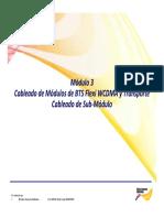 2.3. Flexi WCDMA BTS Modules Cabling Esp