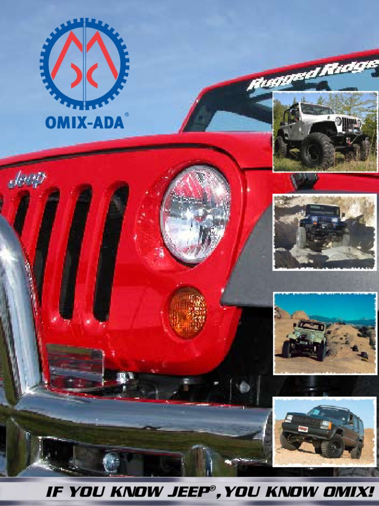 Omix-Ada 12031.01 Grille Mounted Hood Stop Support