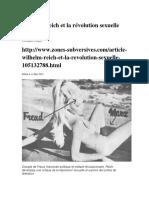 Wilhelm Reich et la révolution sexuelle .docx
