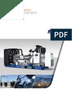 Diesel Generator Set Brochure