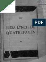 Elisa Lynch de Quatrefages - Hector Francisco Decoud - Ano 1939 - PortalGuarani