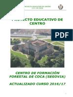 Proyecto Educativo CFA Coca_curso 2016_17