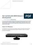 Get Started With XBOX Kinect 2 JavaScript Development