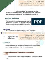 Contabilidade PPT - Intermediária - Exercícios de Fixação Unidade IV- Fontes de Financiamento de CP