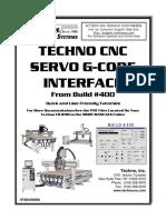 0439 Techno CNC Servo G-Code Interface Manual - Build 400