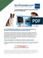 FAQ zur Behandlung der Arthrose, ED, HD beim Hund mittels Stammzellentherapie