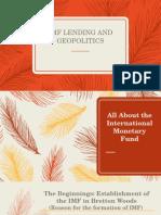 Geopolitics and IMF
