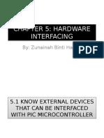 CHAPTER 5 Hardware Interfacing