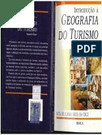 Intr. à Geografia Do Turismo - Rita de Cássia a. Da Cruz