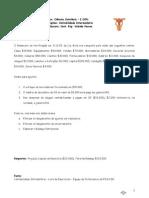 Contabilidade Intermediária - Exercícios de Fixação 05